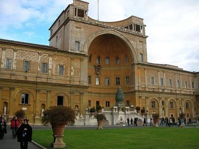 Inside Vatican Palace