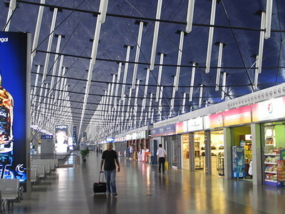 Interior Of The International Terminal