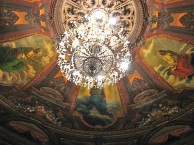 Interior Of Teatro Colon Bogota
