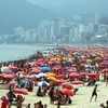 Ipanema Beach Crowd - Rio De Janeiro