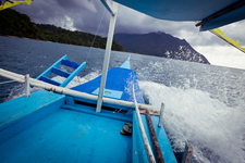 Island Hopping On A Cloudy Day