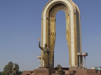 Monument In Dushanbe - Tajikistan