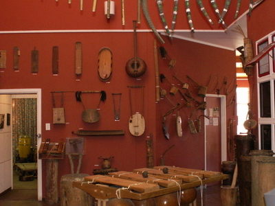 Some Of The Instruments Inside ILAM