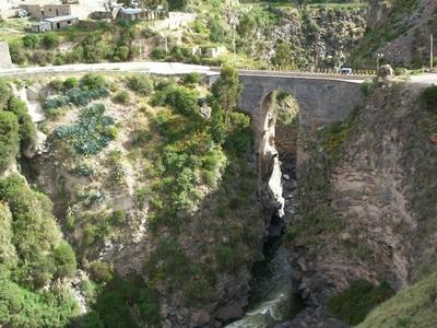 Inca Bridge Chivay