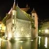 Palais De L'Isle Jail By Night