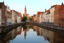 Jan Van Eyckplein - Bruges Belgium