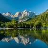 Jasna Lake In Julian Alps