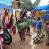 Jinka Market Street In Ethiopia