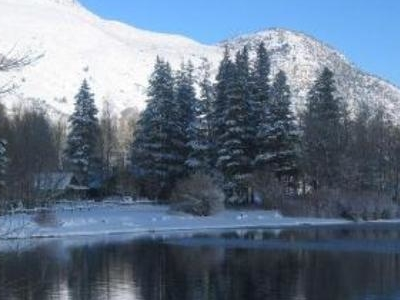 Silver Lake In The Winter