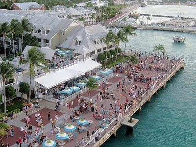 Key West - Crowd Gathering For Sunset