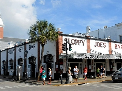Key West Duval & Greene Streets - Sloppy Joe's Bar