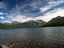 Kintla Lake View - Glacier - Montana - USA