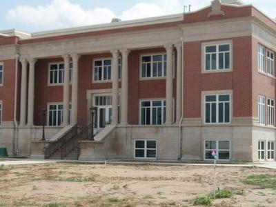 Kiowa County Kansas Courthouse
