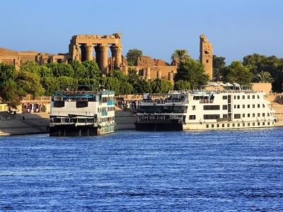 Kom Ombo On The Nile Near Aswan