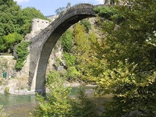 Konitsa Bridge - View From Below