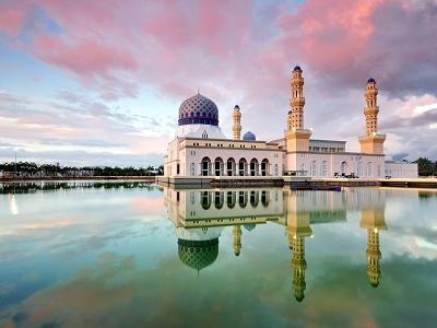 Kota Kinabalu City Floating Mosque - Sabah Borneo