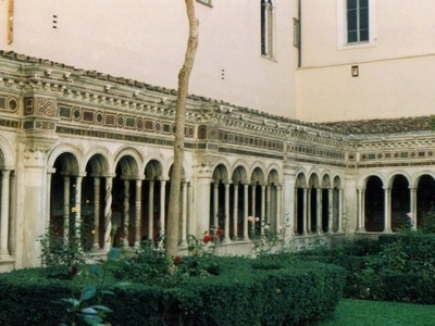 Cloister Of The Monastery Of St Paul