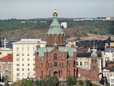 La Cathédrale Uspenski - Helsinki Old Town