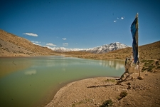 Lahaul & Spiti Valley HP Lake Dhankar
