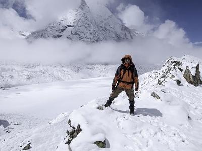 Lake At Island Peak Base Camp - Nepal