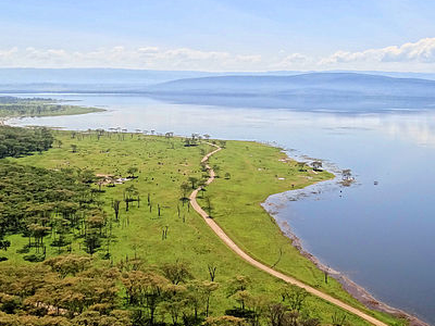 Lake Nakuru From Baboon Cliff