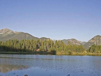 Lake Dillon In Summer