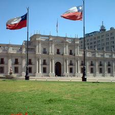 Front View Of La Moneda