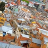 La Paz Overview - Bolivia Andes