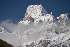 Larkya Pass In Himalayas - Nepal