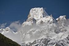 Larkya Peak From Manaslu Circuit Trek - Nepal Himalayas