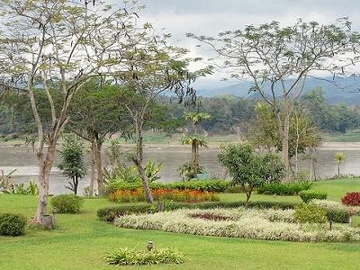 Le Mékong à Luang Phrabang (Laos)