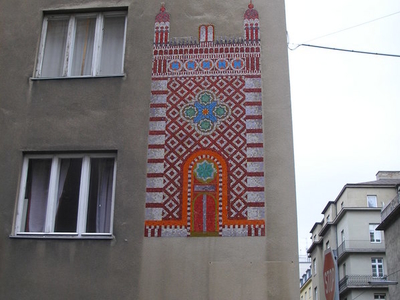 Memorial Mosaic At Tempelgasse