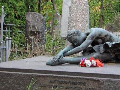 Lydiya Herasymchuk´s Grave