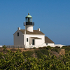 Lighthouse On Top Of Cabrillo National Monument