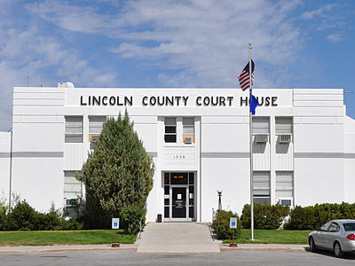 Lincoln County Courthouse - Pioche