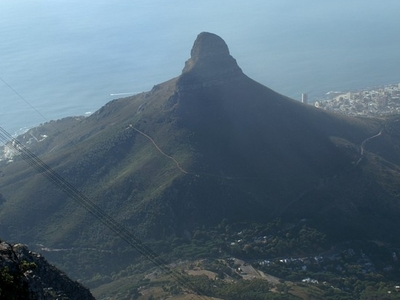 Lion's Head As Seen From Table Mountain