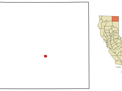 Location In Modoc County And The State Of California