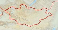 Location Of Erdenet In Mongolia