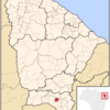 Location Of Juazeiro Do Norte