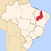 Location Of State Of Piau In Brazil