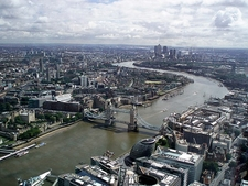London Overview With Tower Bridge