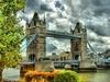London Tower Bridge Over Thames River