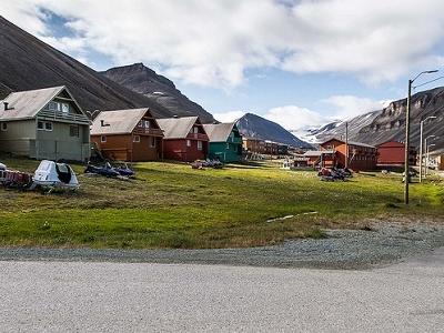 Longyearbyen Houses - Jan Mayen Island