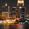 Louisville Night Skyline