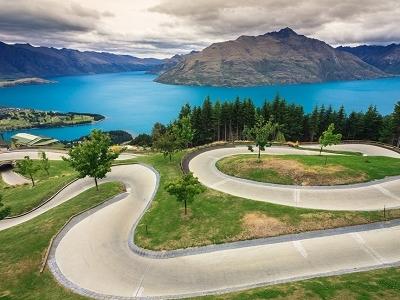 Luge Track @ Queenstown NZ