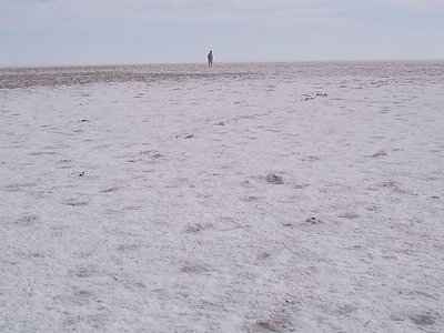 Lake Eyre Salt Crust
