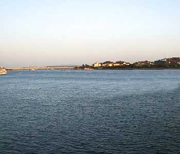 Mandovi River View