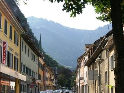 Marktstrasse   The Main Street Of Hohenems