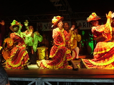 Martinique Dancers In Traditional Costume