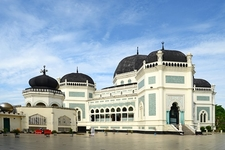 Masjid Raya In Medan - Indonesia